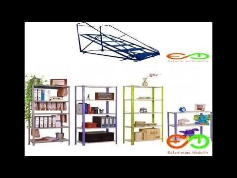 Donde comprar Gondolas metalicas de supermercados Medellin Colombia - YouTube