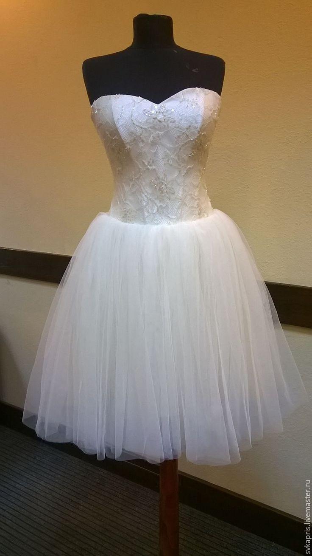 Купить Платье - трансформер - белый, свадебное платье на заказ, необычное платье, платье трансформер, невеста