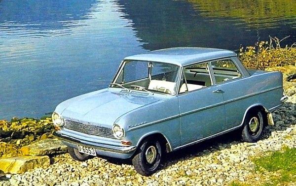 Opel Kadett Germany 1962