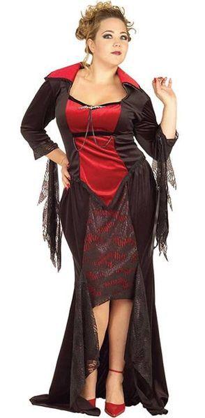 Naamiaisasu; Scarlet Vampyyritar +  Upea vampyyrittaren asu Halloween kekkereihin ja miksei muihinkin juhliin… #naamiaismaailma