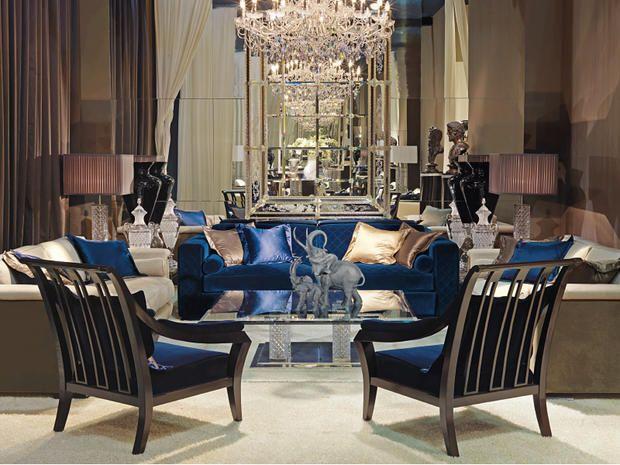 Quando il #salotto e la sala da pranzo sono extra #lusso tra nobili #velluti, accenti dorati e venature marmoree! Oggetti prezioni che arricchiscono la casa di #eleganza e magnificenza. #barciulliarreda from @mcmaisonitalia