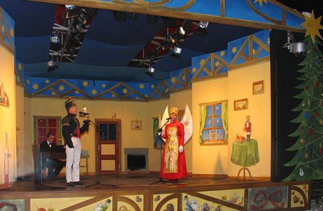 Bühne Weihnachten