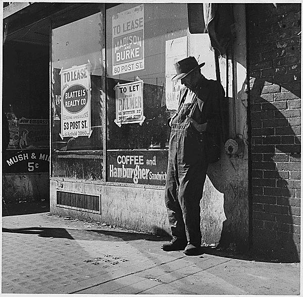 Destitute man vacant store.gif