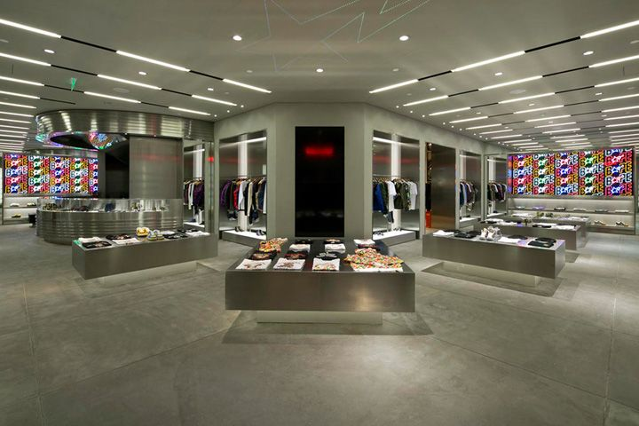 BAPE store, Shanghai store design
