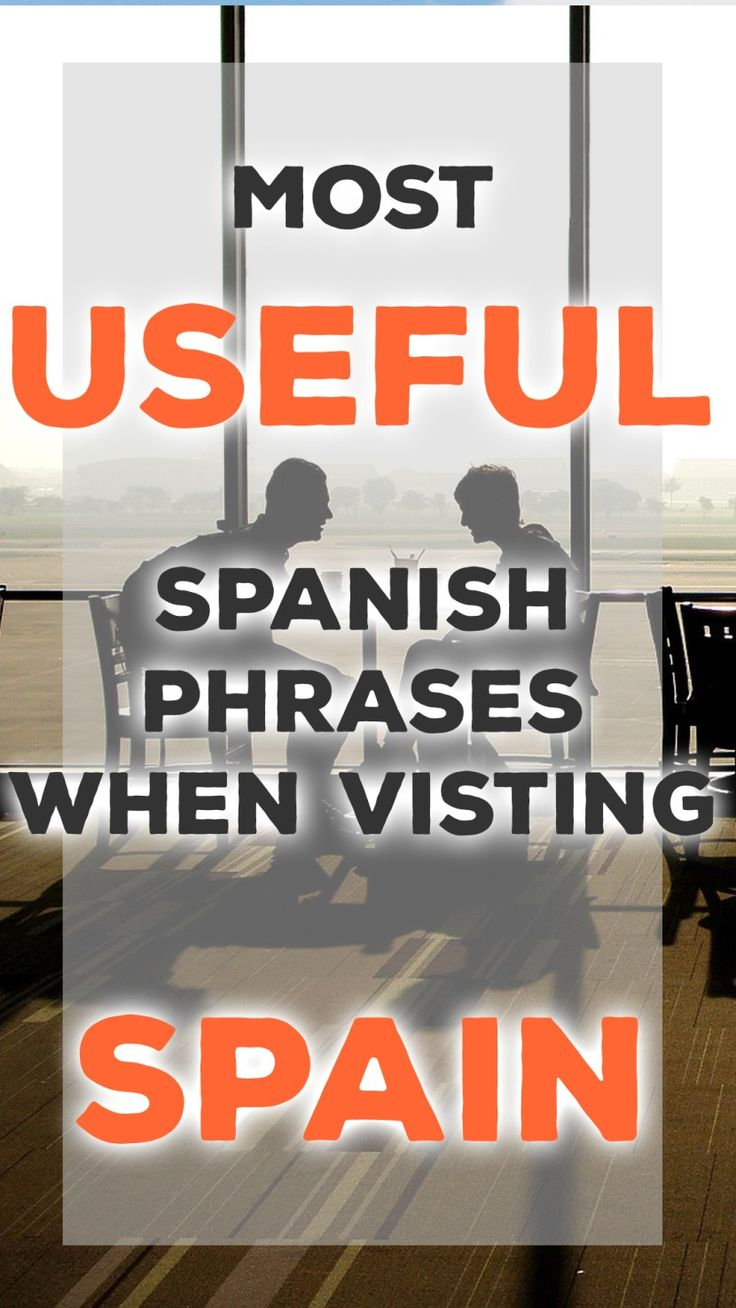 Basic Spanish Phrases to Help You on Your Travel to Spain! www.SpainUncharted.com