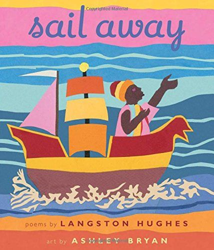 MOCK CALDECOTT SPRING 2016: Sail Away, illustrated by Ashley Bryan - PS3515.U274 A6 2015  - check availability @ https://library.ashland.edu/search/i?SEARCH=9781481430852