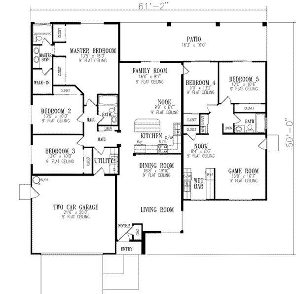 High Quality ... 5 Bedroom Floor Plan Part 23
