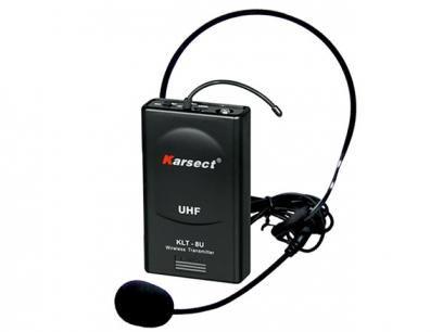 Microfone sem Fio Headset - Karsect KRU 200 com as melhores condições você encontra no Magazine 1e2namao. Confira!