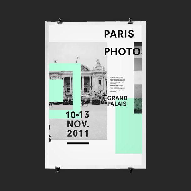 Paris Photos Event Poster Design | Creative Print Design