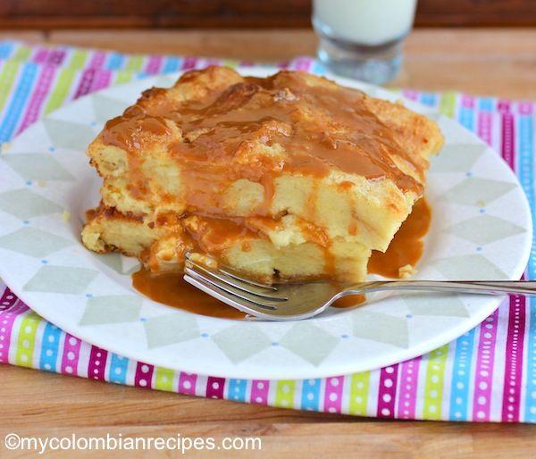 Simple Bread Pudding recipe