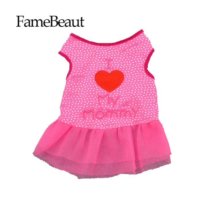 High Quality Dog Clothes Dresses Dog Dress Clothing For Small Dogs Clothing Dog Puppy Clothes Pink Purple Color // FREE Shipping //     Buy one here---> https://thepetscastle.com/high-quality-dog-clothes-dresses-dog-dress-clothing-for-small-dogs-clothing-dog-puppy-clothes-pink-purple-color/    #pet #animals #animal #dog #cute #cats #cat