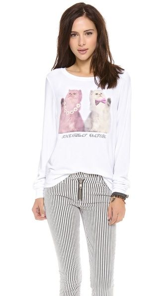 Wildfox The Great Catsby Baggy Pullover #TaylorSwift