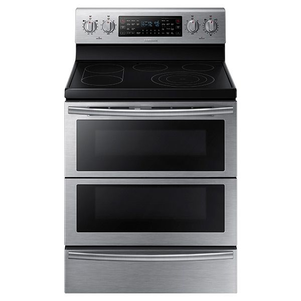 """Love that this oven can have 1 OR 2 doors! Awesome. 30"""" Freestanding Electric Flex Duo ® Oven & Electric Range (Stainless Steel) 