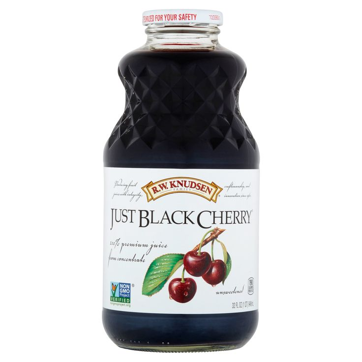 R.W. Knudsen Family Just Black Cherry 100% Premium Juice from Concentrate 32fl oz