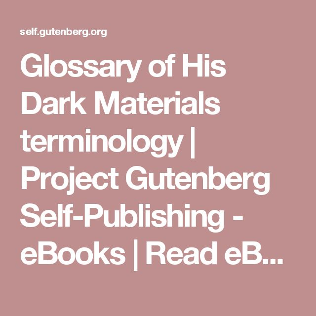 1043 best kindle publishing christian images on pinterest authors glossary of his dark materials terminology project gutenberg self publishing ebooks read fandeluxe Choice Image