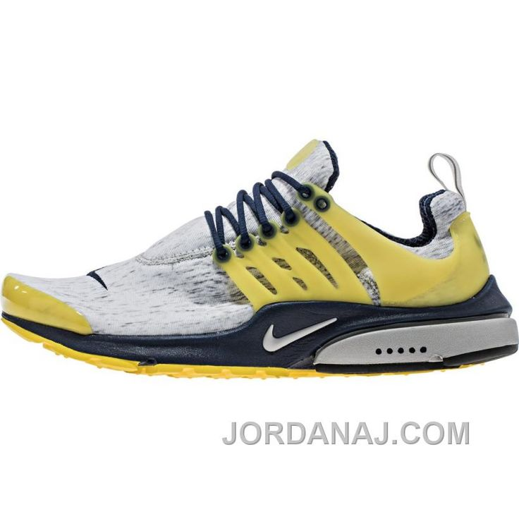 Nike Air Presto (Mens) - Zen Grey/Midnight Navy/Varsity Maize/Zen Grey