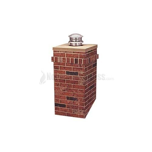 faux chimney for the roof on garden shed | Home / R-CO- Square Chimney Surround