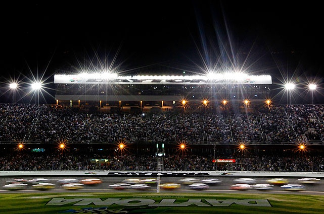 54th Daytona 500.  First time ever run on a Monday night due to rain.  Daytona Baby!!