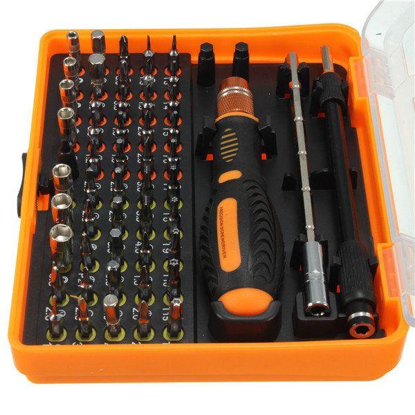53 en 1 multi-Bit precisión Torx Destornillador Pinzas herramientas de reparación del teléfono Venta - Banggood.com