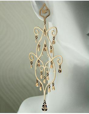 Σκουλαρίκια από ροζ χρυσό Κ18