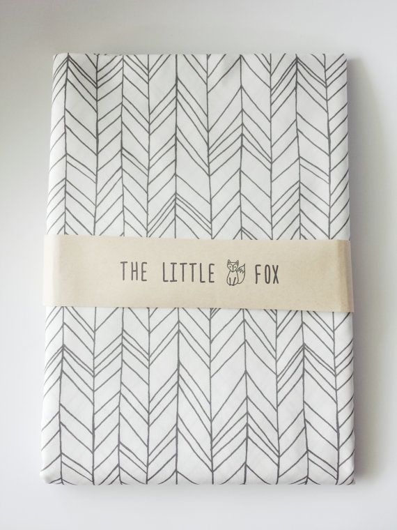 Stokke Sleepi Cot Crib Sheet in Charcoal by TheLittleFoxDesigns, $69.00