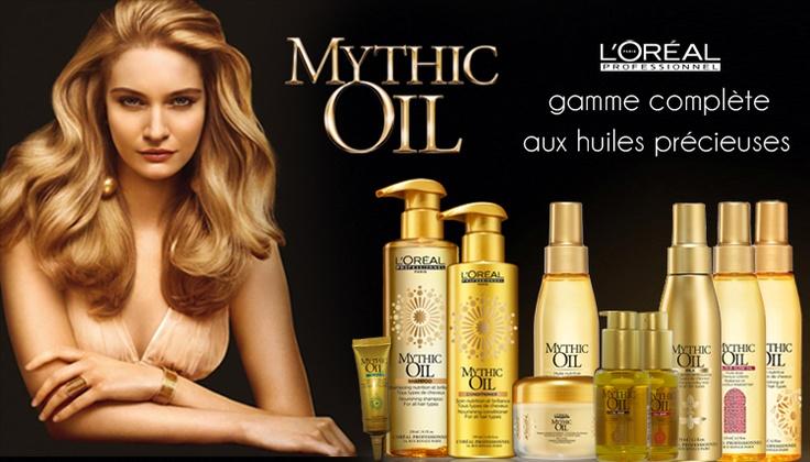 Mythic Oil L'Oréal Professionnel :  Les huiles précieuses    http://www.hairstore.fr/mythic-oil-loreal-professionnel.htm