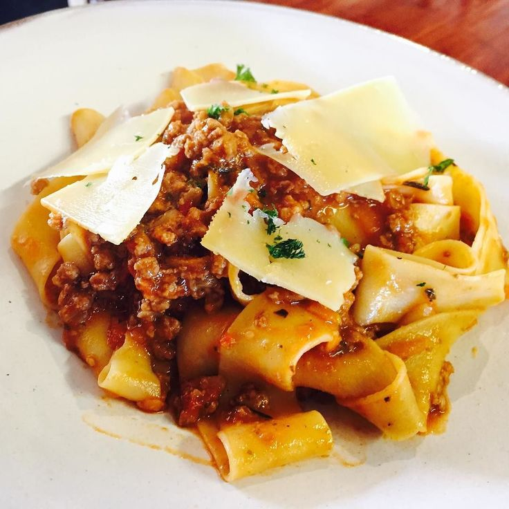 One of our specials that we like to make every so often... Our home made pasta with a delicious bolognese sauce and parmesan shavings.  #makingpasta #pastabolognese #eateryhermanus #eaterylunch #lunchtime #delicioushomemade