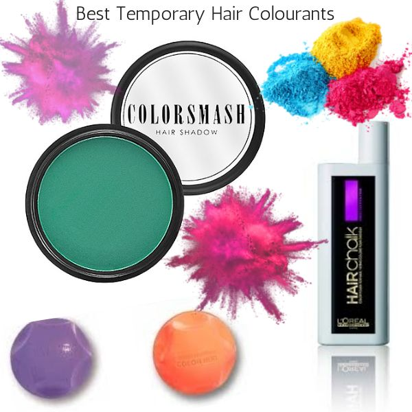 Best temporary hair color products - ThePlasticDiaries.com #color #hairdye #haircolor