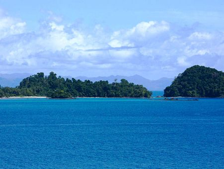 Isla Coiba in Panama is a combination of jungles and beaches