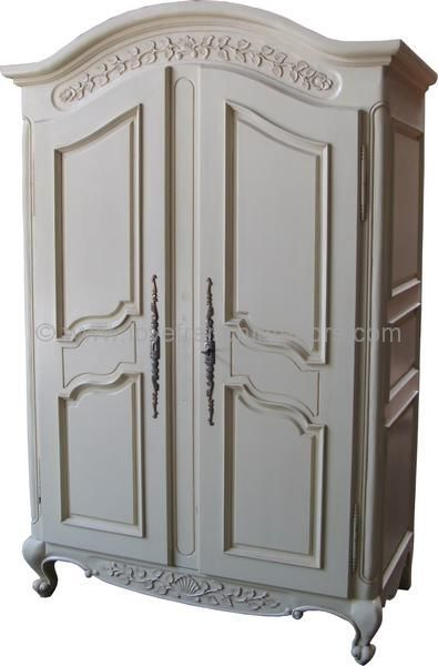 Exceptionnel Arch Top Armoire With Plain Panels Mahogany Wardrobe From Lock Stock U0026  Barrel Furniture