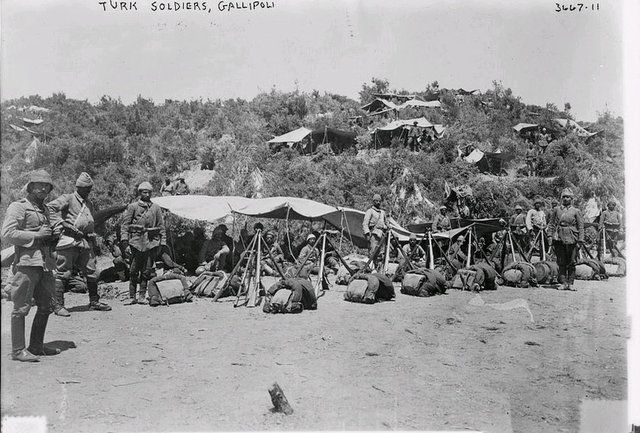 Turkish Soldiers, Gallipoli