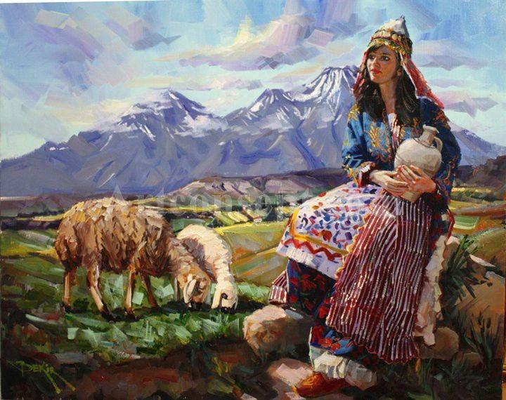 Ressam Bekir Üstün Yağlı Boya Tabloları   Artconsept Çerçeve