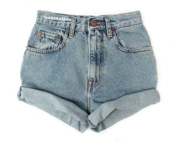 Vintage Levi high-waisted denim shorts, $26