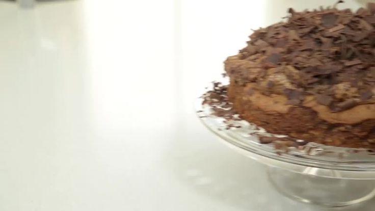 Torta de mousse de chocolate    Maru Botana