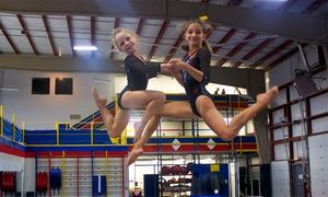 Groupon - $ 45 for 5 Groupons, Each Good for Three-Hour Open Play at Rising Stars Gymnastics Academy ($90 Value) in Manalapan. Groupon deal price: $45