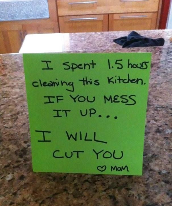~~ Parents Who Are Savage AF With Their Notes ~~