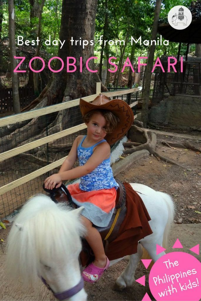 Best Day Trips from Manila: Zoobic Safari. The Philippines. About three hours drive from Manila is Subic Bay, a strange mishmash of burgeoning tourism and the remnants of American military presence. The bay is dotted with navy ships, while the main strip