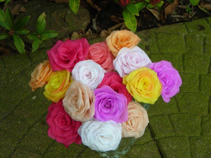 Papieren rozen