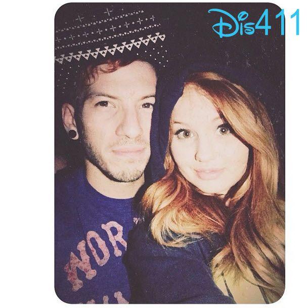 Debby Ryan with her boyfriend
