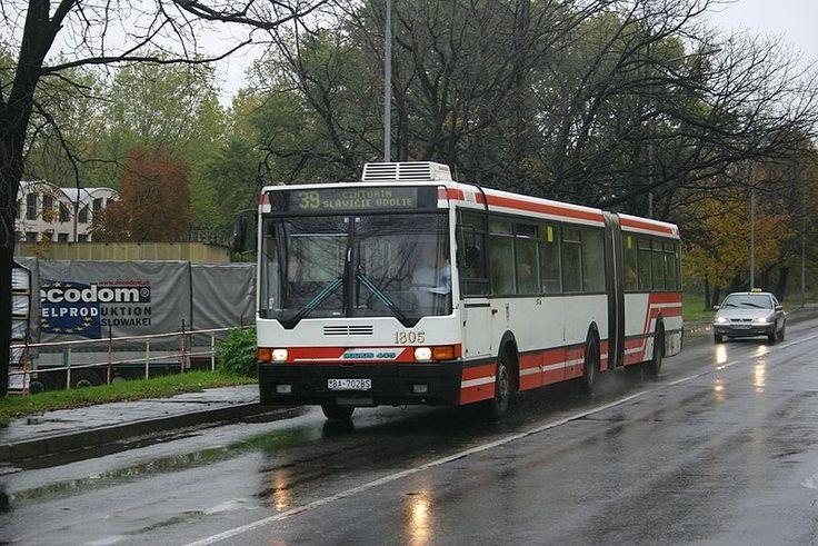 Ikarus-435 в Словакии