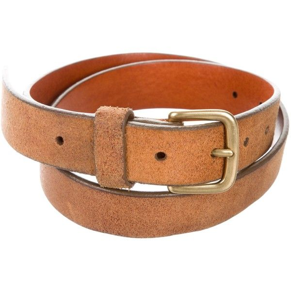 Pre-owned Marc Jacobs Leather Waist Belt ($50) ❤ liked on Polyvore featuring accessories, belts, neutrals, marc jacobs, leather belt, genuine leather belt, real leather belts and tan leather belt