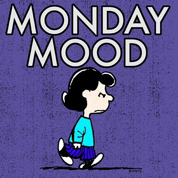 Monday Mood funny day charlie brown snoopy peanuts monday days of the week lucy weekdays i hate mondays