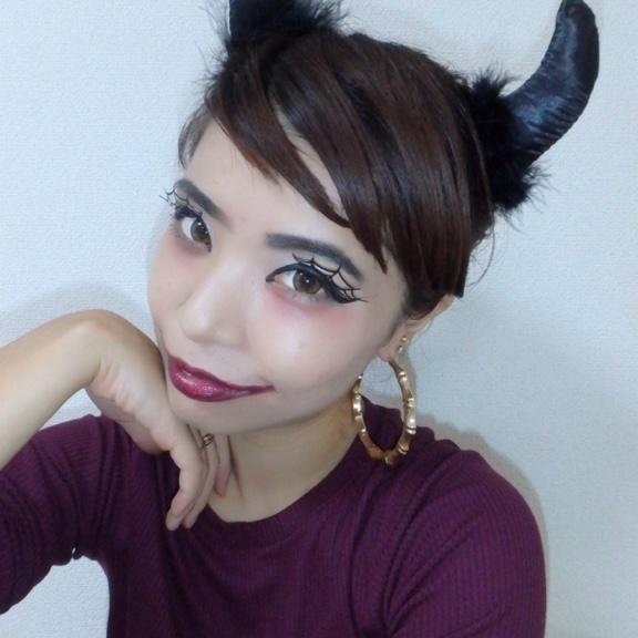 【プチプラ】目の周りたった5cm変えるだけで、本格的なハロウィン...   石島 恵 さんの記事詳細   SIGN(サイン)