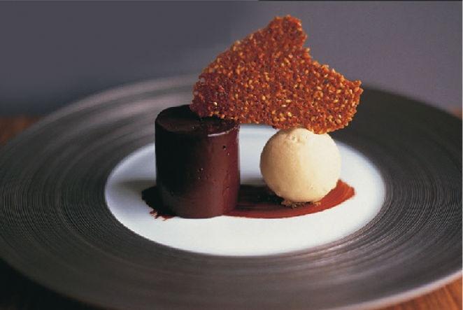 Dessert with David Everitt Matthias