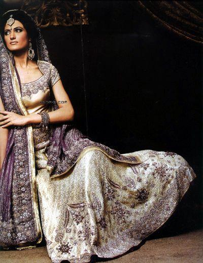 Hinab.com Pakistani wedding dress