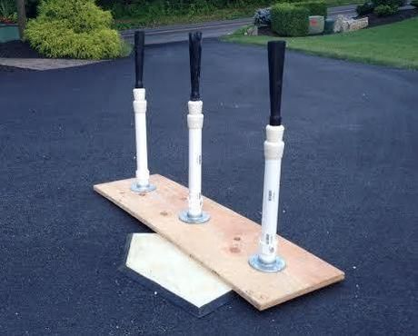 How to make a batting tee