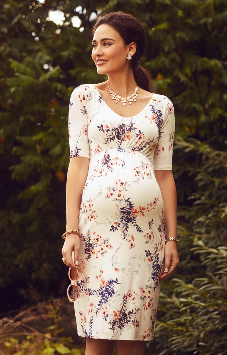 Your go-to maternity shift dress for office, party or wedding invite.