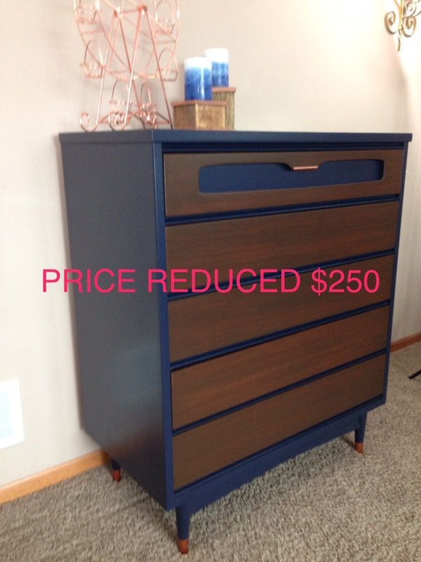 Mid century modern highboy dresser by bassett furniture in minneapolis mn offerup
