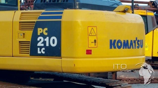 Gebrauchte Baumaschinen Komatsu Bagger PC 210-8 #excavator http://www.ito-germany.de/komatsu-pc210-8-gebrauchter-kettenbagger-kaufen-mit-schnellwechsler  #Komatsu #Baumaschine #Mining #Pelle #excavadora #Heavyequipment #forsale