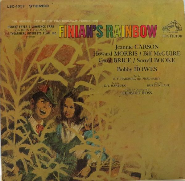 Various - Finian's Rainbow - The Original Cast Of The 1960 Broadway Production: buy LP, Album at Discogs